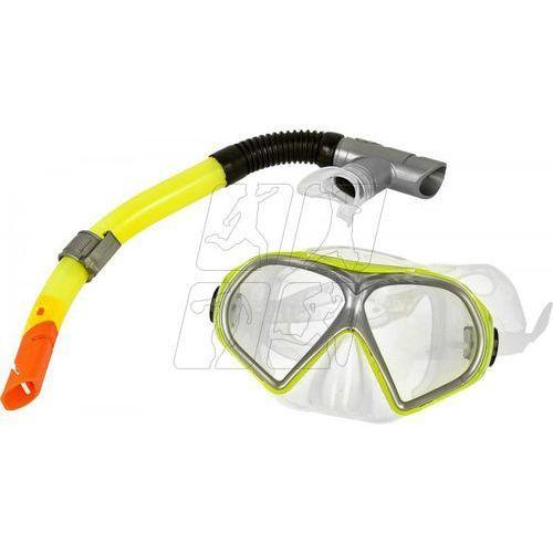 Allright Zestaw do nurkowania ventoza senior żółty maska + rurka