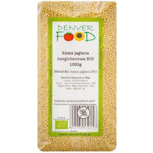 Kasza Jaglana Bezglutenowa BIO 1 kg Denver Food - Najlepsza oferta