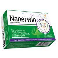Nanerwin 20 kap. Na zdrowy sen Suplement diety