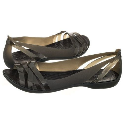 eb2f75f960e18 Sandały Crocs Isabella Huarache 2 Flat W Black 204912-060 (CR143-c)