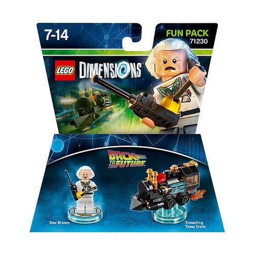 Avalanche studios Lego dimensions fun pack doc brown 71230