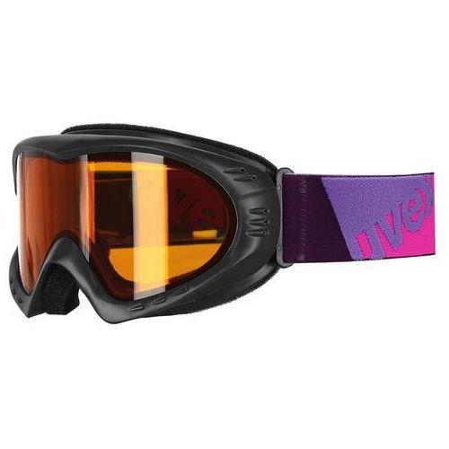 Gogle narciarskie cevron czarny/fiolet 550/036/2629 marki Uvex