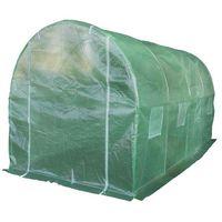 Gardetech Tunel ogrodniczy foliowy szklarnia 8m2