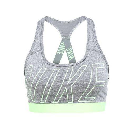 Nike Performance PRO CLASSIC Biustonosz sportowy dark grey heather/cool grey