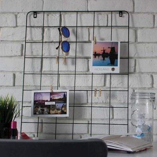 Tablica Krata organizer na ścianę LOFT 48x60 cm
