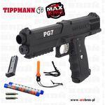 - Tippmann pg7 zestaw do samoobrony, pistolet pneumatyczny, co2, kule pieprzowe, obronny