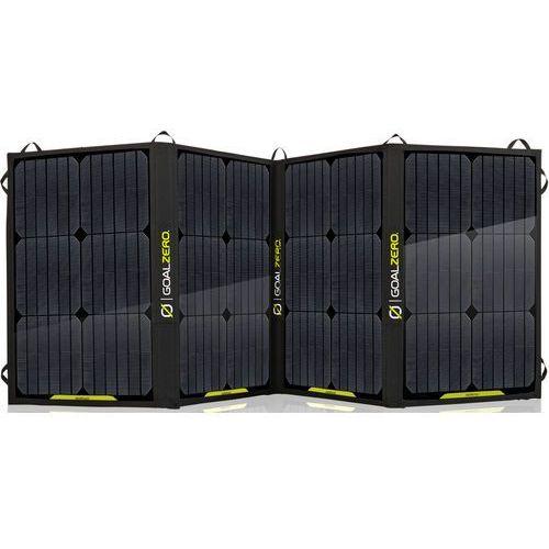 Goal Zero Nomad100, przenośny panel solarny, turystyczna ładowarka słoneczna.