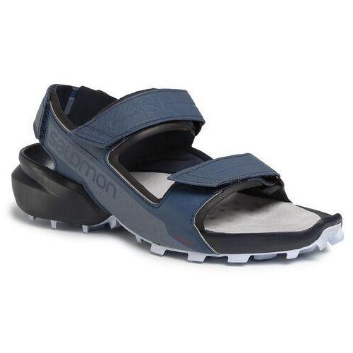 Sandały - speedcross sandal 409771 28 m0 sargasso sea/navy blazer/heather marki Salomon