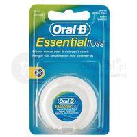 Oral-b essentialfloss 50m nić dentystyczna woskowana o smaku miętowym e029