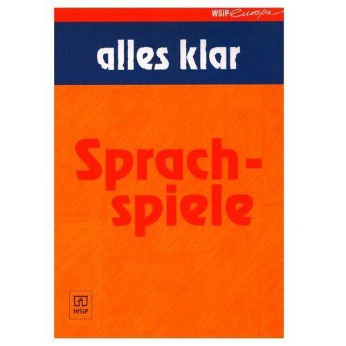 Alles Klar Sprachspiele - książka, oprawa broszurowa