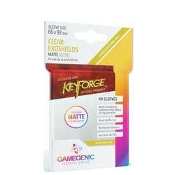 Gamegenic: Matte KeyForge Exoshields Clear 66x92mm