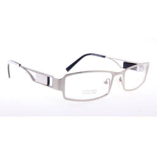 Ricco Oprawki okularowe a2713 c3 srebrno-białe