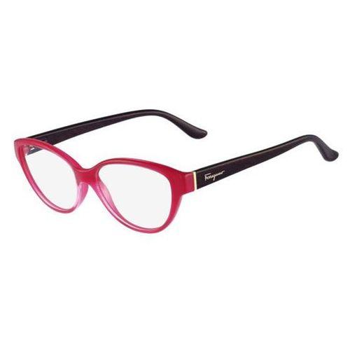 Salvatore ferragamo Okulary korekcyjne sf 2688 529