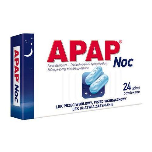 Tabletki APAP Noc x 24 tabletki