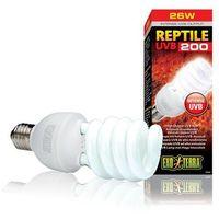 Exo terra lampa uvb 200 repti glo 10.0 - 25 w dostawa gratis od 99 zł + super okazje