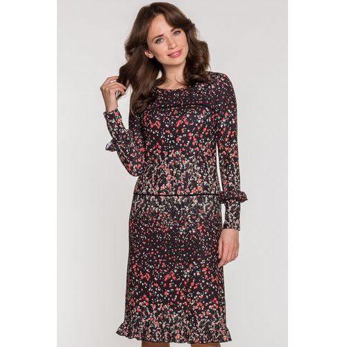 76a9e11e61 Czarna sukienka w łączkę (Kumi) opinie + recenzje - ceny w AlleCeny.pl