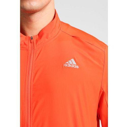 ba4a9f75 adidas Performance RESPONSE WIND Kurtka do biegania energy, kolor  pomarańczowy - 7
