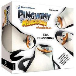 Pingwiny z Madagaskaru Gra planszowa