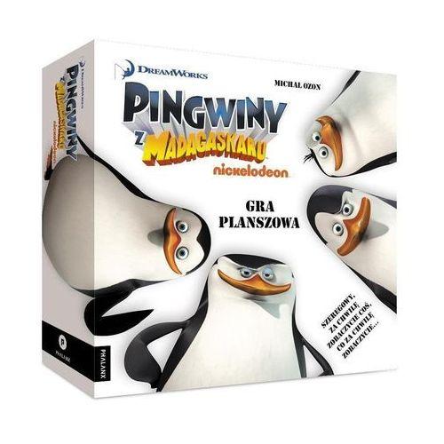 Pingwiny z madagaskaru gra planszowa marki Ozon michał