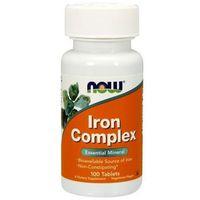 Tabletki Iron Complex (Kompleks żelaza) 100 tabl.