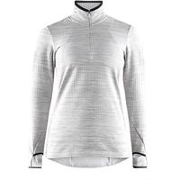 Craft bluza damska Grid szara S