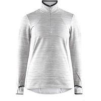 Craft bluza damska Grid szara XS