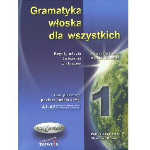Gramatyka włoska dla wszystkich (206 str.)