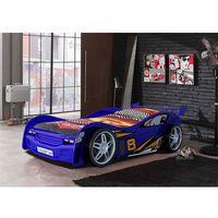 Vipack Łóżko auto samochód night racer blue,. łóżko dla dziecka, dla chłopca