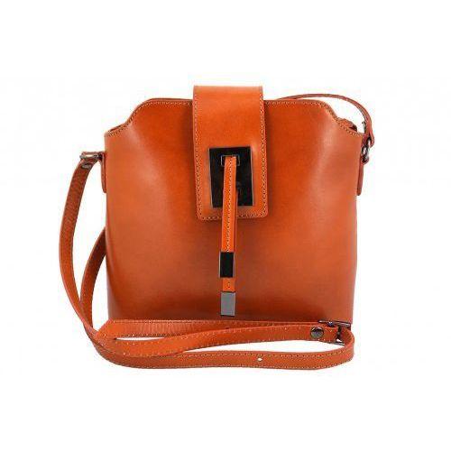daabfd5d012c1 Klasyczne listonoszki damskie - Barberini's - Brązowy jasny, kolor brązowy  - zdjęcie produktu