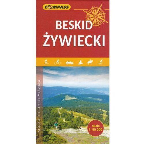 Mapa turystyczna - Beskid Żywiecki 1:50 000 - Praca zbiorowa, oprawa broszurowa