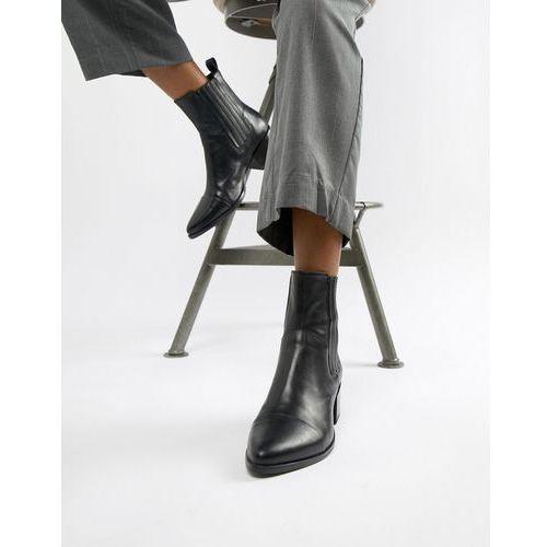 a9d39fa784f82 Vagabond Vagabond Marja black leather western pointed ankle boots - Black