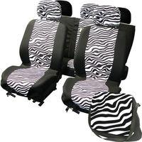 CarPoint pokrowce na siedzenia LadyLine Zebra (8711293075621)