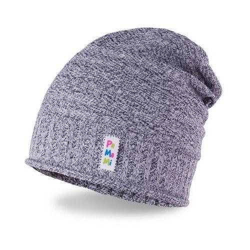 Pamami Wiosenna czapka dziewczęca - ciemnoszary - ciemnoszary (5902934032063)