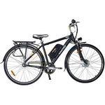 Rower elektryczny prime 28 (czarny) marki Interbike