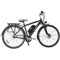"""Rower elektryczny Prime 28"""" Interbike (czarny) Dostawa GRATIS!"""