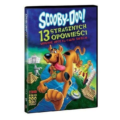 Galapagos films Scooby-doo! 13 strasznych opowieści. upiorne hece na całym świecie (2 dvd) (płyta dvd) (7321909319974)