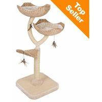 Zooplus exclusive Cat´s flower drapak dla kota - dł. x szer. x wys.: 55 x 55 x 130 cm (4054651630853)