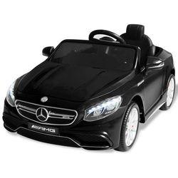 vidaXL Samochód elektryczny dla dzieci, czarny Mercedes Benz AMG S63