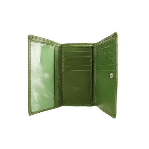 d1e940e5f68d3 ... PERFEKT PLUS P/45 A bigiel/zatrzask zielony, portfel damski - Zielony  ...