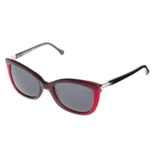 Acrux okulary przeciwsłoneczne czarny czerwony uni Roberto cavalli