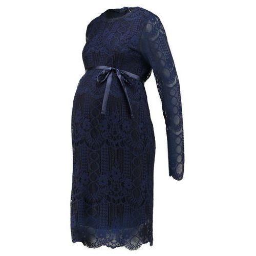 MAMALICIOUS MLWILMA DRESS Sukienka koktajlowa black iris (5713723376370)