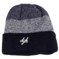 czapka zimowa DGK - Blocked Beanie Black (BLACK) rozmiar: OS