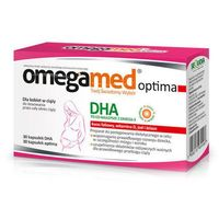 Kapsułki OMEGAMED OPTIMA x 30 DHA+30 kapsułek Optima