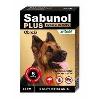 Sabunol Plus obroża przeciw kleszczom i pchłom dla psa 75cm