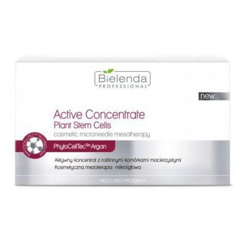 Meso med program active concentrate plant stem cells aktywny koncentrat z roślinnymi komórkami macierzystymi Bielenda professional