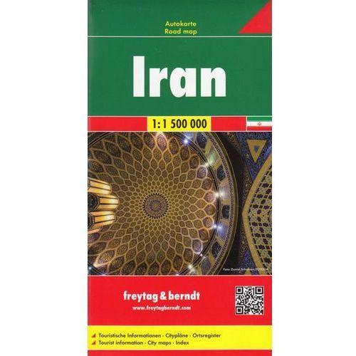 Iran. Mapa 1:1 500 000, Freytagberndt