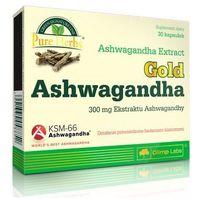Kapsułki Olimp Gold Ashwagandha extract Premium KSM-66 300mg 30 kaps.