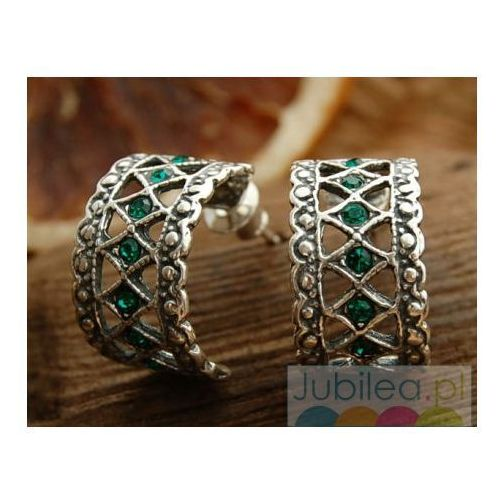 SAVANA - srebrne kolczyki z perłami, kolor biały