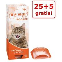 My star 25 + 5 gratis! w musie, 30 x 90 g - my star is a rocker - kurczak
