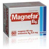 Tabletki MAGNEFAR B6 x 60 tabletek - 60 tabletek